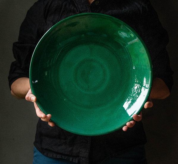 Plate Verde 34 Cm