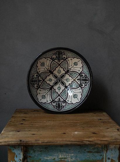 Marockansk keramik Skål