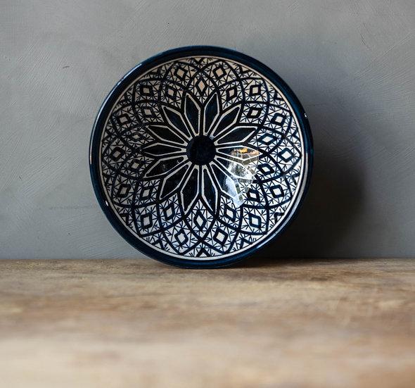 Marockansk keramik Skål 19 Cm