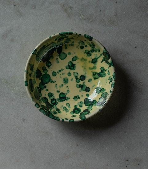 Frukostskål Spruzzi Green/Yellow 16 Cm