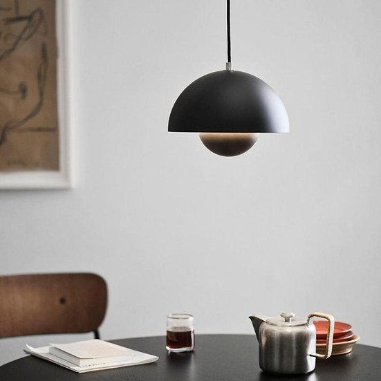 Flowerpot Pendant Lamp Black