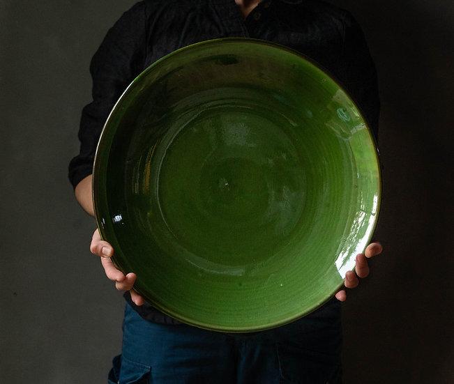 Plate Verde 40 Cm