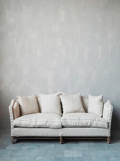 Linen sofa Antoinette