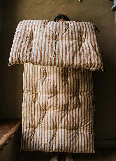 STRIPED COTTON MATTRESS  70x180 cm