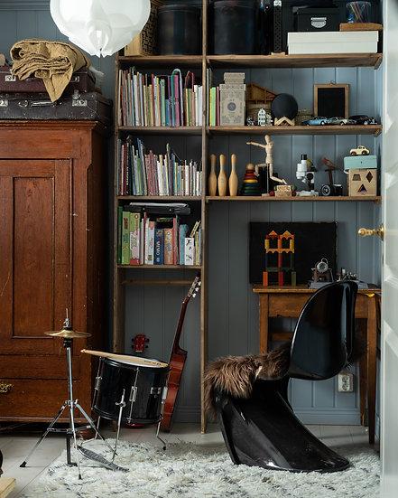 Panton Black Chair 1900-2000tal