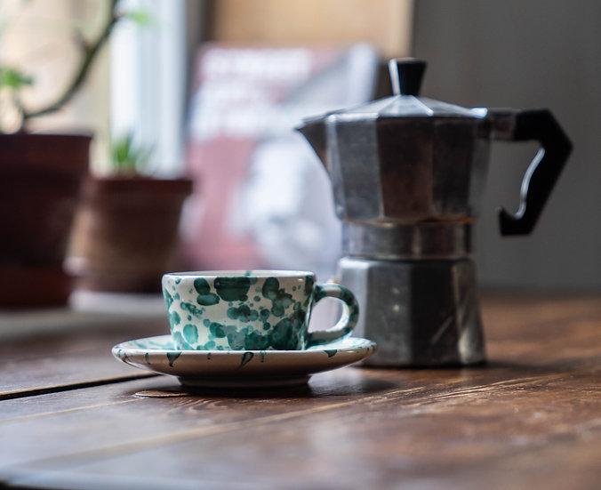 Espressokopp Spruzzi Turchese