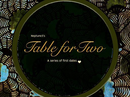 """Announcing: """"Table for Two: A Series of First Dates"""""""