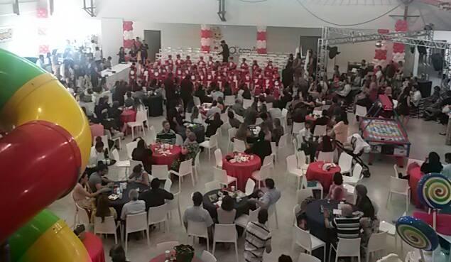 Formatura Salão de Festas Megamundo