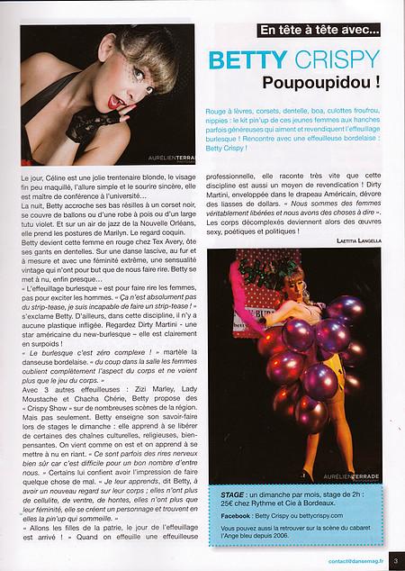 Danse Mag - dec 2013