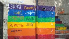 Feminista Photo Essay: Aazadi เดลีในทรงจำกับเสรีภาพบนผนังกำแพง
