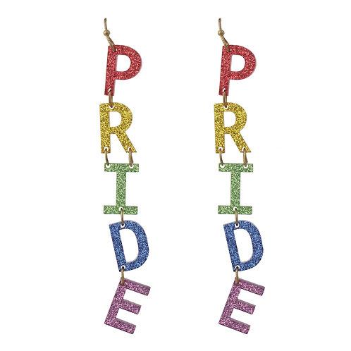 Rainbow Pride Drop Earring