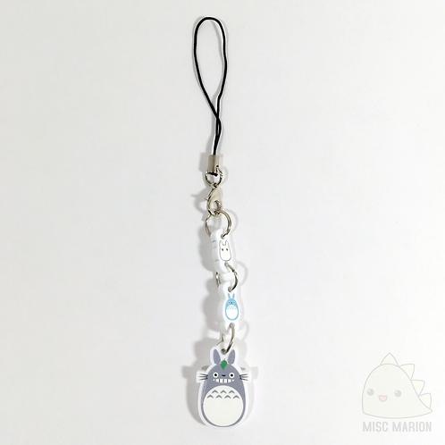 Totoro Triple Acrylic Charm