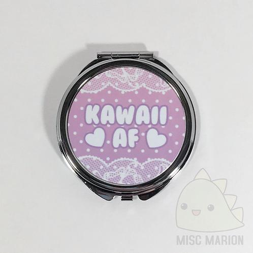 Kawaii AF Pocket Mirror