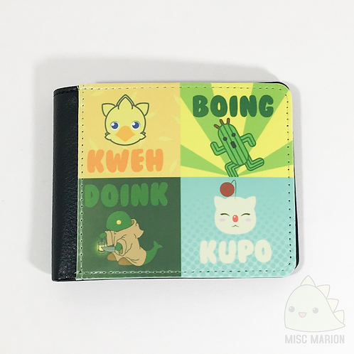 Final Fantasy Monsters Bifold Wallet