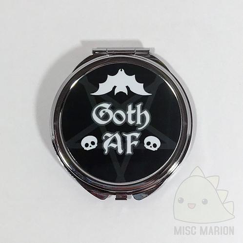 Goth AF Pocket Mirror