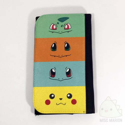 Pokemon Starters Clutch Canvas Wallet