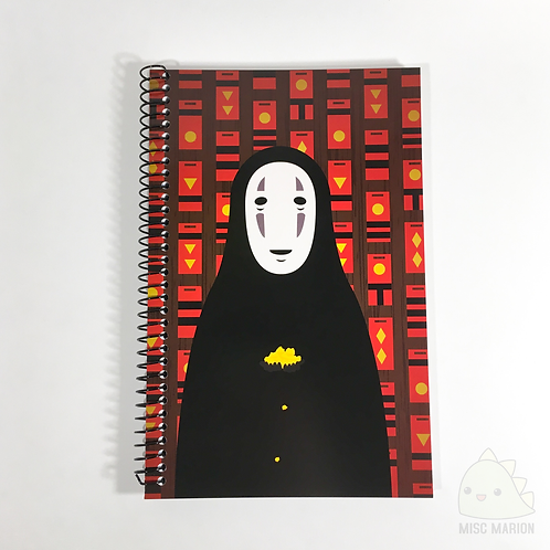 No Face Notebook