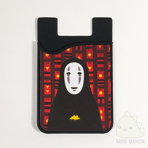No Face Card Caddy Phone Wallet