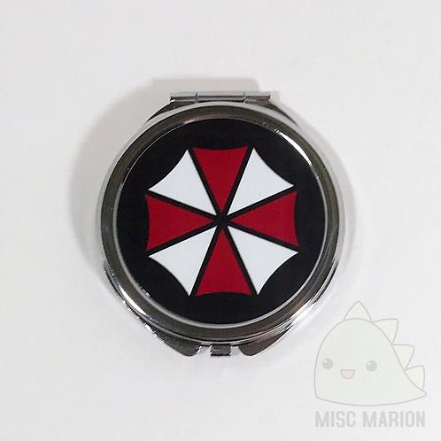 Resident Evil Umbrella Corp. Pocket Mirror