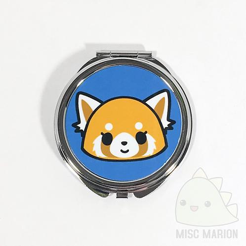 Aggretsuko Pocket Mirrors