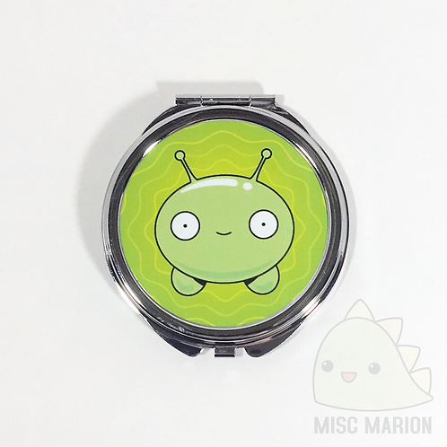 Moon Cake Final Space Pocket Mirror