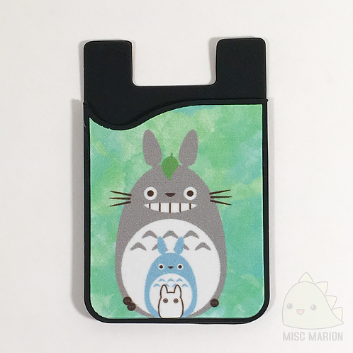 Totoro Card Caddy Phone Wallet