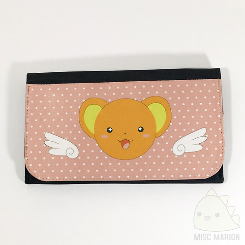 Kero/Cerberus Clutch Canvas Wallet