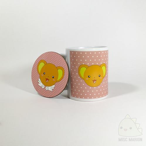 Kero/Cerberus Mug & Coaster Set