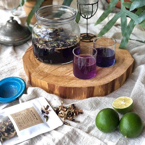 Spice Blue Tea - のんびり山の青いお茶 - &マイヤーレモン5個