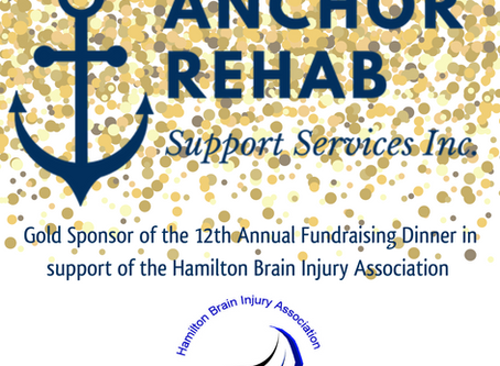 Join us at the 12th Annual Fundraising Dinner for the Hamilton Brain Injury Association