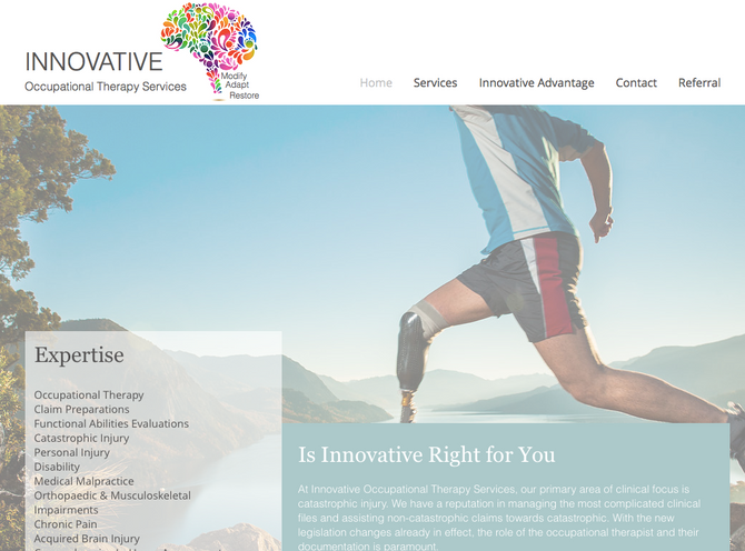 Innovative Occupational Therapy Services Launches NEW Online Presence