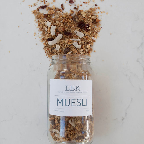 Large Muesli Jar |  500g