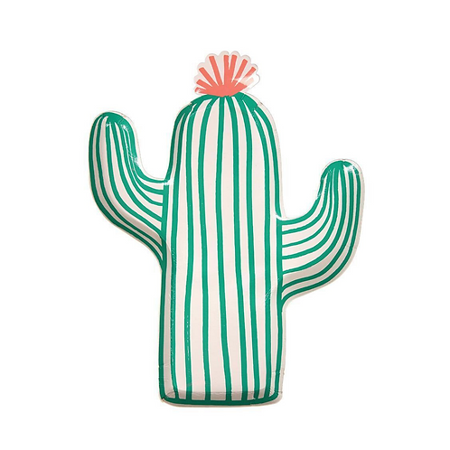 Cactus Fiesta Party Plates