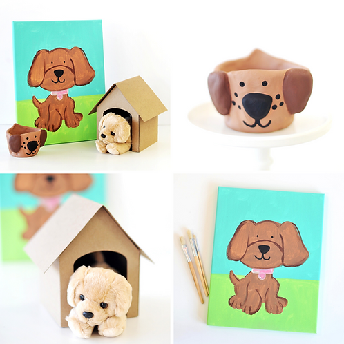 Puppy Virtual Art Camp