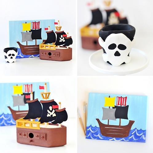 Pirate Virtual Art Camp