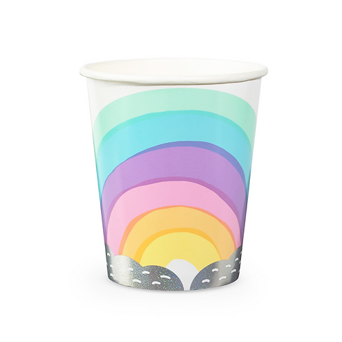 Dreamy Rainbow Party Cups