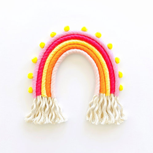 Fiber Rainbow Wall Hanging Kit