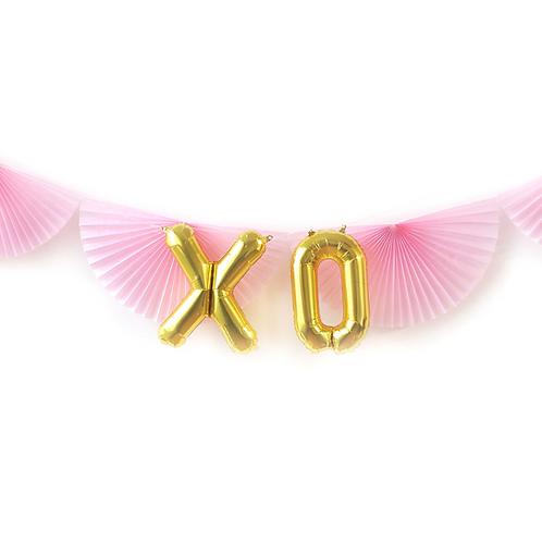 XOXO Foil Balloon Set