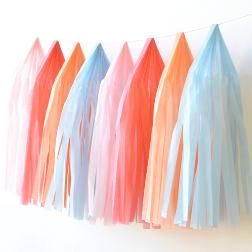 Fairytale Tissue Paper Tassel Garland Kit