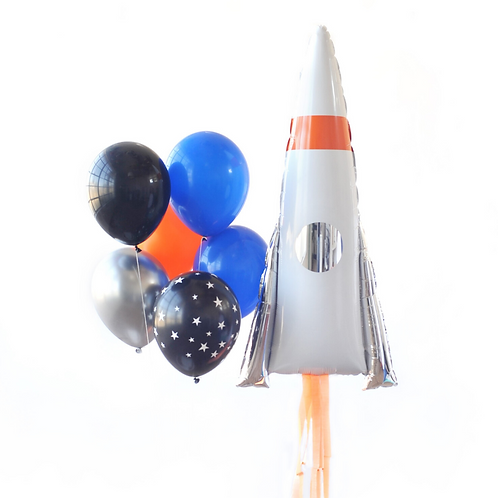 Outer Space Foil Balloon