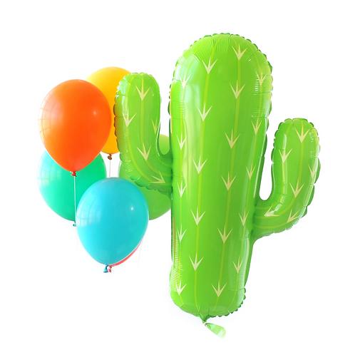 Cactus Fiesta Foil Balloon