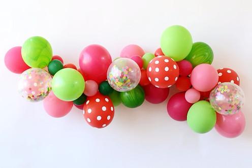 Sweet Watermelon Balloon Garland Kit