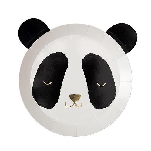 Panda Bear Party Plates