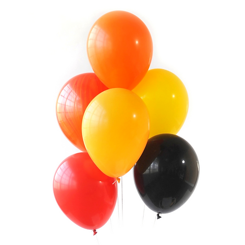 Fire Truck Party Balloons
