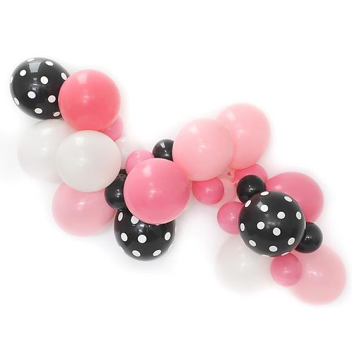 Panda Bear Balloon Garland Kit