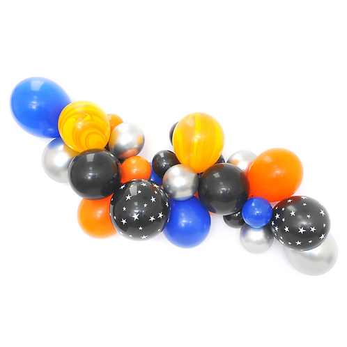 Outer Space Balloon Garland Kit
