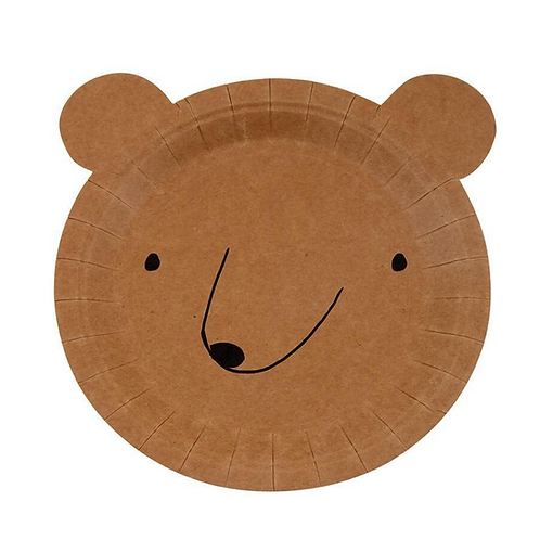 Little Bear Party Plates