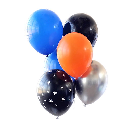 Outer Space Party Balloons