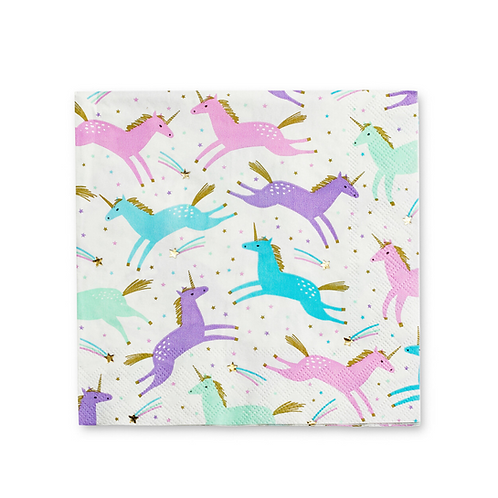 Magical Unicorn Party Napkins