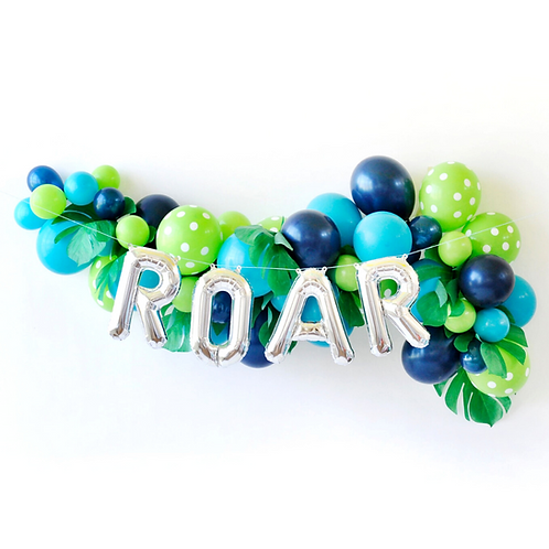 Dinosaur Roar Balloon Garland Kit